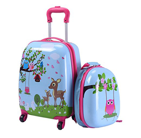 7. Cabin Max Bear Childrens Carry on Trolley Suitcase