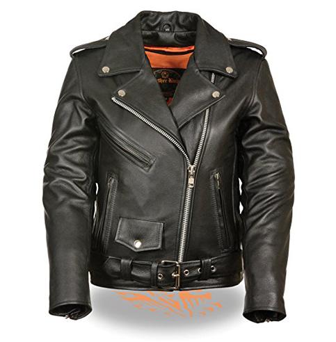 9. Milwaukee Ladies Leather Motorcycle Jacket