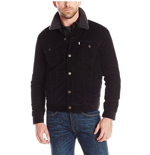 4. Levi's Faux-Shearling Trucker Jacket