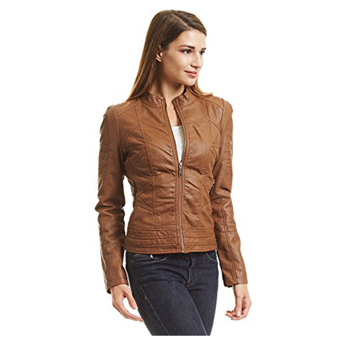 10. Come Together California Dressy Vegan Leather Coat