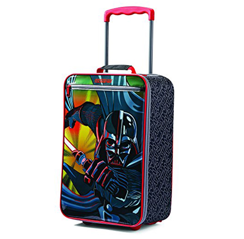 4. American Tourister 18 Inch Upright Soft Side