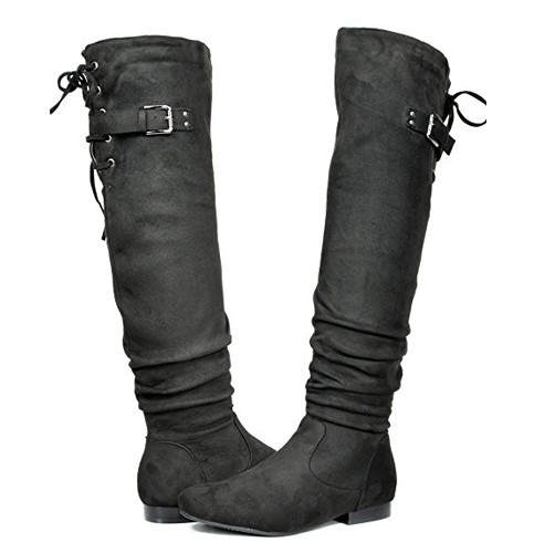 1. DREAM PAIRS Women's Over The Knee Slouchy Boots