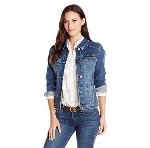 4. Wrangler Women's Denim Jacket