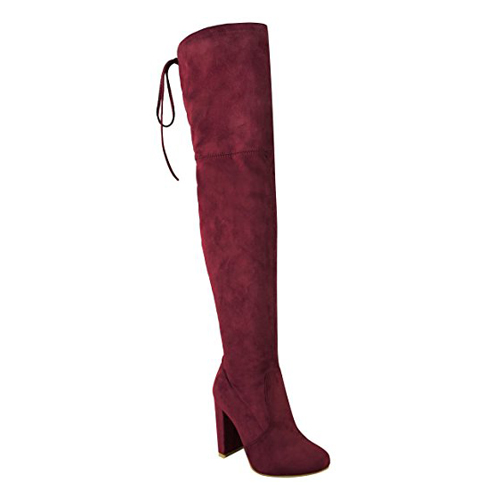 3. Fashion Thirsty Womens Over The Knee Boots