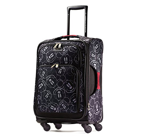 9. American Tourister Disney Mickey Mouse Softside Spinner 21