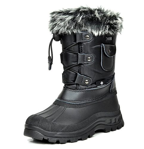 7. DREAM PAIRS KSNOW Insulated Snow Boots