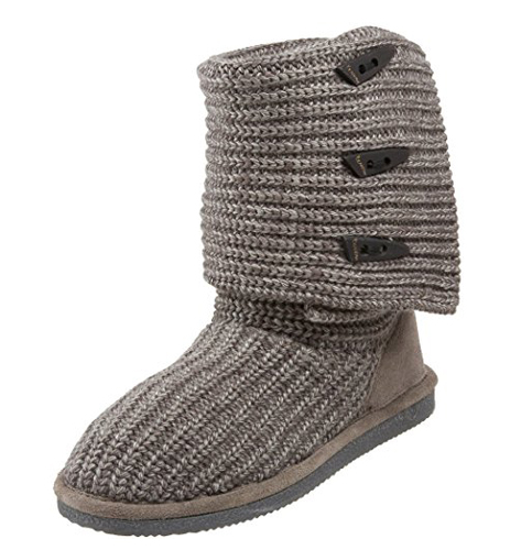 3. Bearpaw Women's Knit Tall Snow Boot
