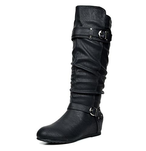 8. DREAM PAIRS Women's Knee High Boots