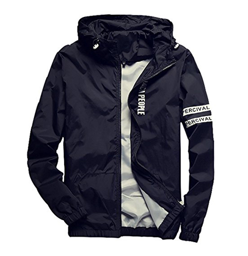 7. Homaok Lightweight Breathable Jacket