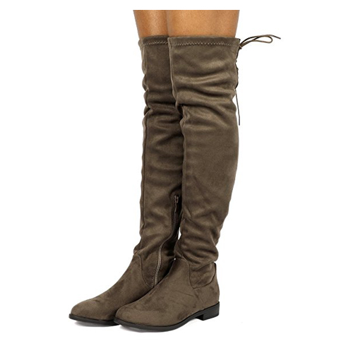 9. DREAM PAIRS Women Over The Knee Thigh High Winter Boots