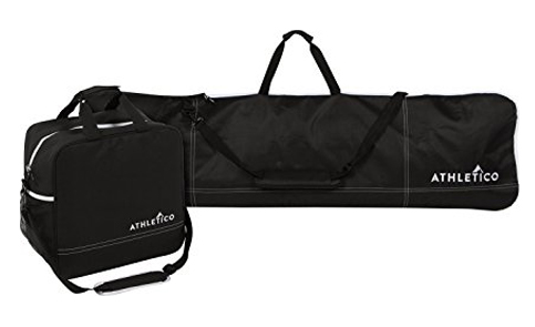 3. Athletico 2-Piece Snowboard and Boot Bag Combination