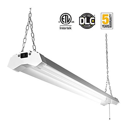 1. FrenchMay LED Utility 4ft 4800 Lumens Lights Fixture