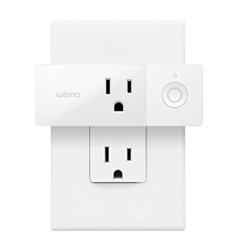 1. Wemo Wi-Fi Enabled Mini Smart Plug