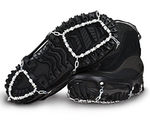 4. ICEtrekkers Grip Traction Cleats (Diamond)