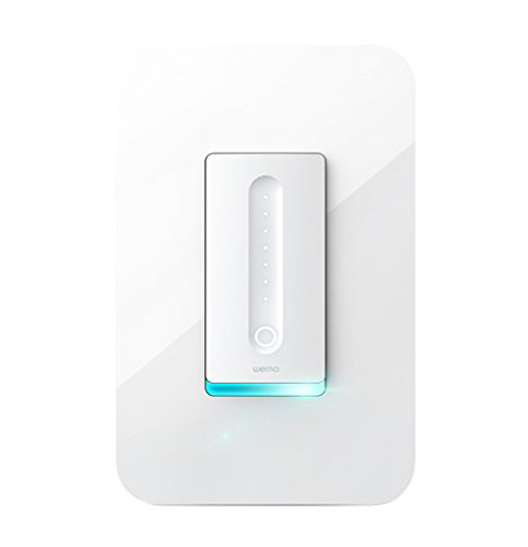 8. Wemo Dimmer Light Switch with WiFi