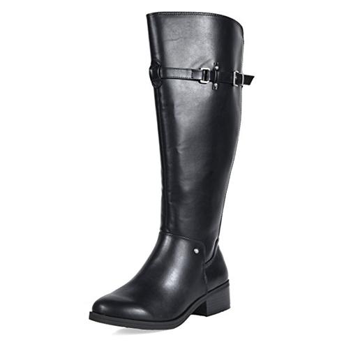 9. TOETOS Women's Knee High Riding Boots