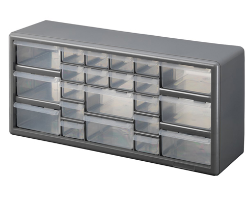 6. Stack-On DS-22 22-Drawer Cabinet