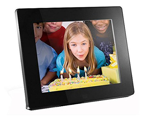 8. Aluratek ADMPF108F High-Resolution 8-Inch Photo Frame