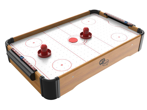 3. Mini Arcade Air Hockey Table