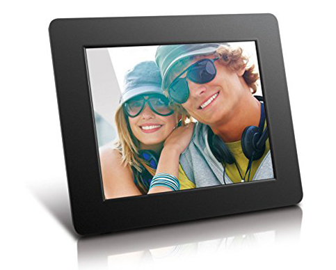 6. Aluratek ADPF08SF 8-Inch Picture Frame
