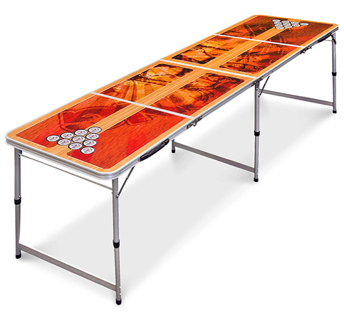 9. Best Choice Products 8-Foot Beer Pong Table