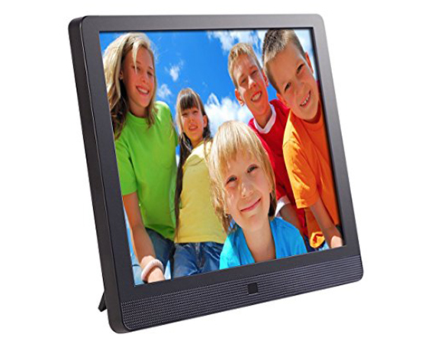 Photo//Music//Video Support Instantly Sharing Memories,Black 1920 x 1080 Resolution LLC-POWER 11.6 Digital Photo Frame with IPS LCD Display Slideshow Picture Frame