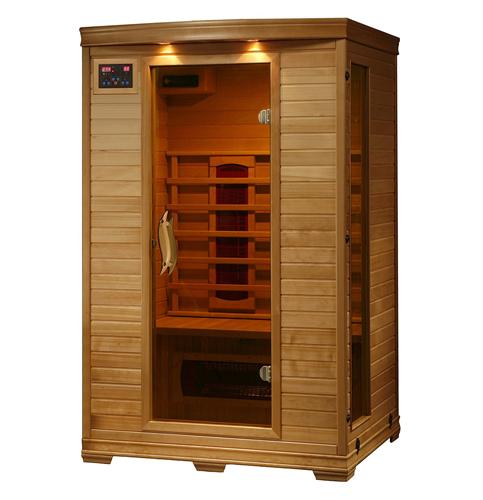 5. Radiant Saunas Hemlock Deluxe 2-Person Infrared Sauna