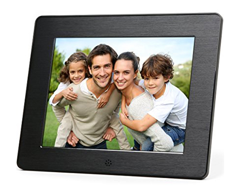 4. Micca 8-Inch High-Resolution LCD Digital Photo Frame