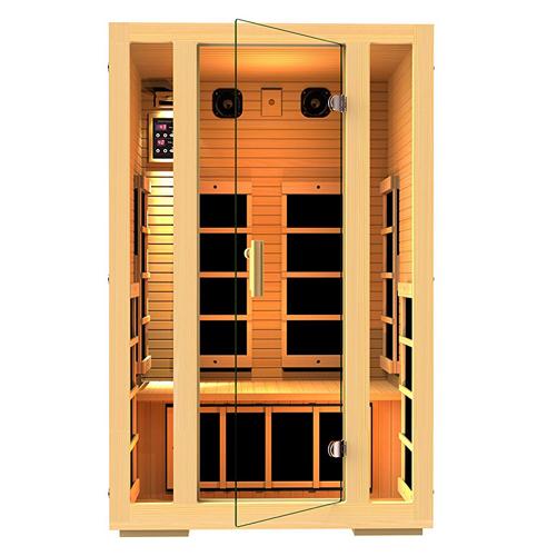 1. JNH Lifestyles 2-Person Infrared Sauna