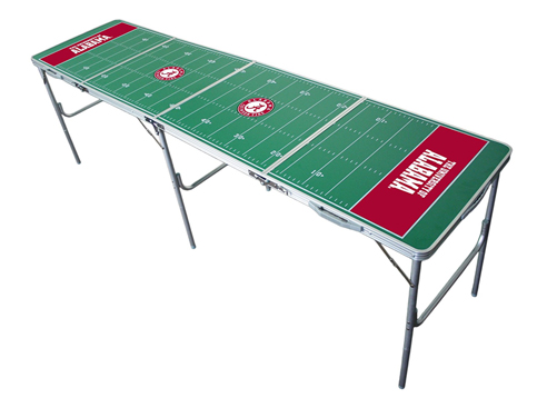 5. Wild Sales 2x8 Tailgate Table College