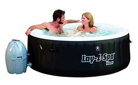 3. BestWay SaluSpa Miami Inflatable Tub