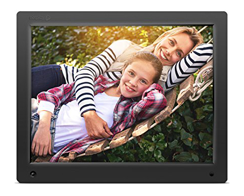 2. Nixplay 15-Inch Original Digital Picture Frame