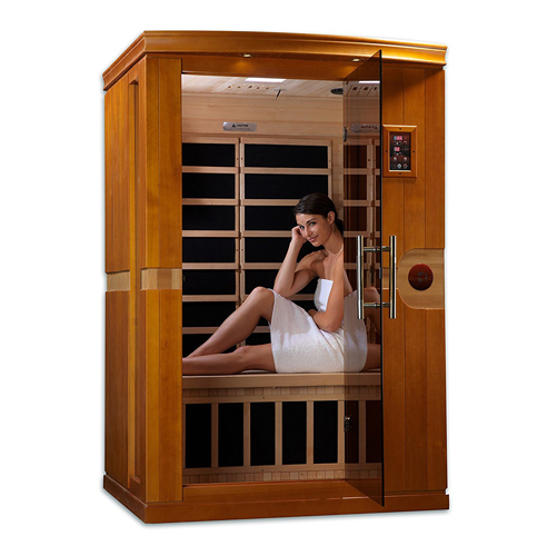 4. DYNAMIC Saunas AMZ-DYN-6210-01 2-Person Infrared Sauna