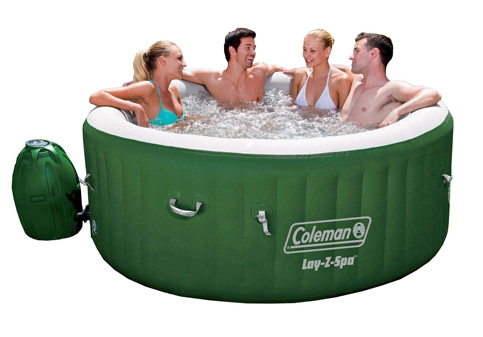 2. Coleman Lazy Z Inflatable Tub