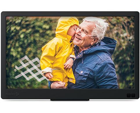 10. Nixplay Edge 8-Inch High-Resolution Display Photo Frame