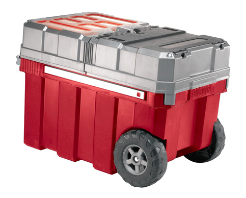 1. Keter New Masterloader Portable Rolling Tool Box