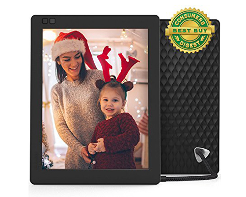 7. Nixplay Seed 10-Inch IPS Display Digital Photo Frame