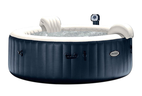 7. Intex Pure Spa 28409E Heated Bubble Hot Tub