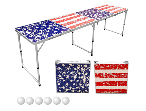8. Sports Festival 8-Foot Beer Pong Table