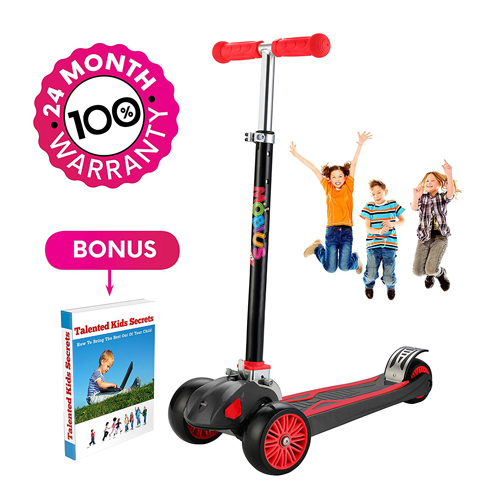 10. MOBIUS Toys Kick Scooter Deluxe