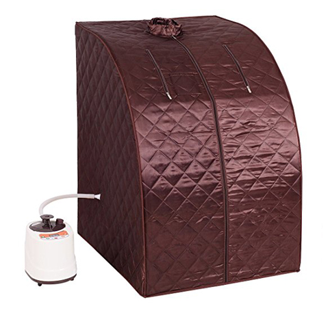 9. Giantex Portable Full Body Steam Sauna Spa