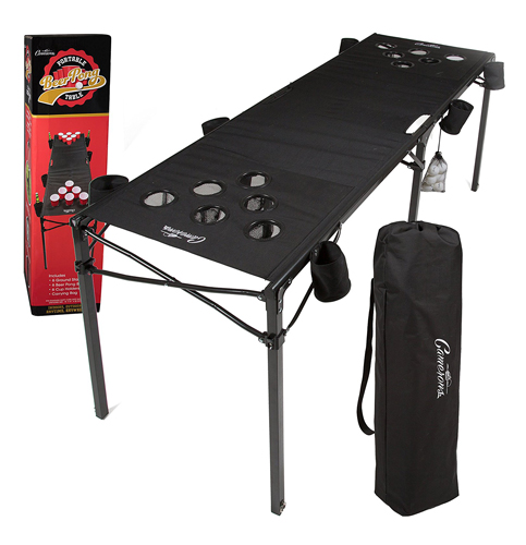 10. Cameron Portable Beer Pong Table