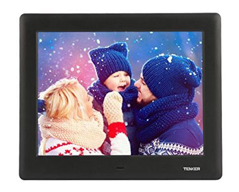 9. TENKER 7-Inch IPS LCD Screen Digital Photo Frame