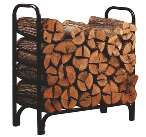 7. Panacea Deluxe 4-Feet Outdoor Log Rack