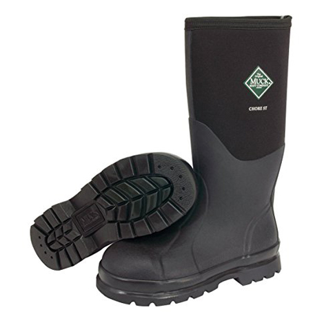15. Muck Boot Original Adult Core Steel Toe Work Boots