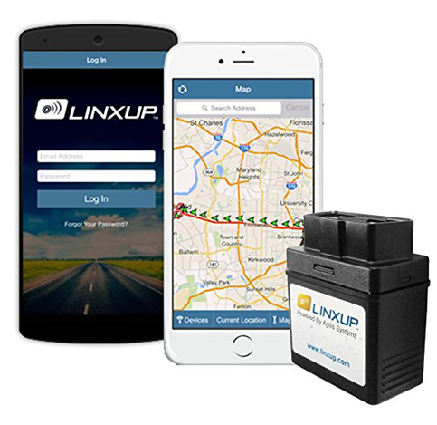 8. Linxup OBD Tracker with Real-Time 3G/GPS