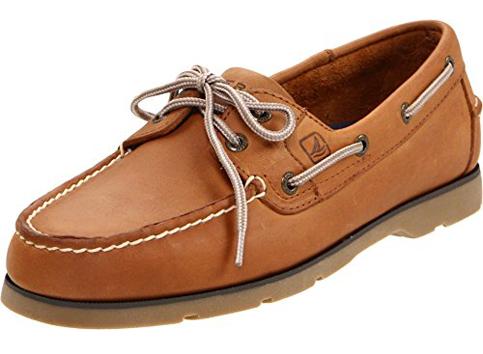 9. Sperry Top-Sider Leeward 2-Eye Boat Shoe