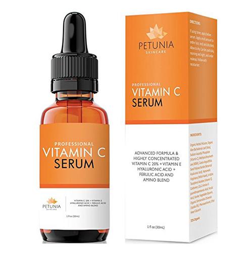 4. Petunia Skincare Vitamin C Serum (20%)