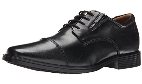 3. Clarks Tilden Cap Oxford Shoes
