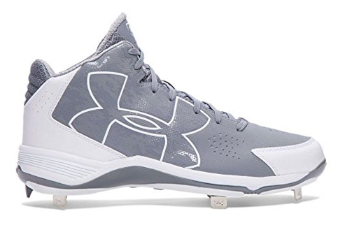 10. Under Armor Mid Baseball Cleats